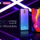 Leagoo S10 претендует на звание самого доступного смартфона с дисплейным сканером отпечатков пальцев