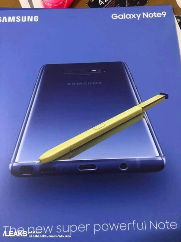 Samsung Galaxy Note 9: цена и дата старта продаж в Европе