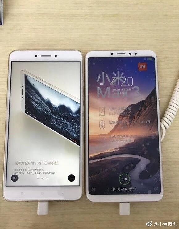 Xiaomi Mi Max 3: характеристики планшетофона объявлены официально и новая порция «живых» фото