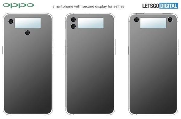 Oppo хочет создать смартфон с экраном на задней панели