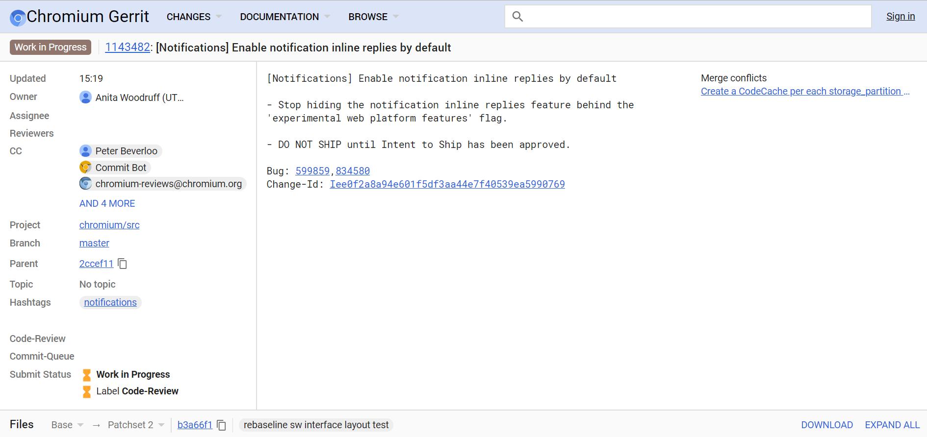 Google Chrome для Android получит поддержку быстрых ответов