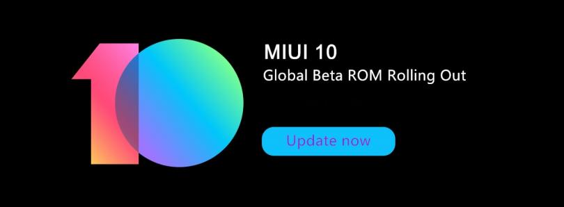MIUI 10 Global Beta 8.7.12 пришла на 21 модель Xiaomi