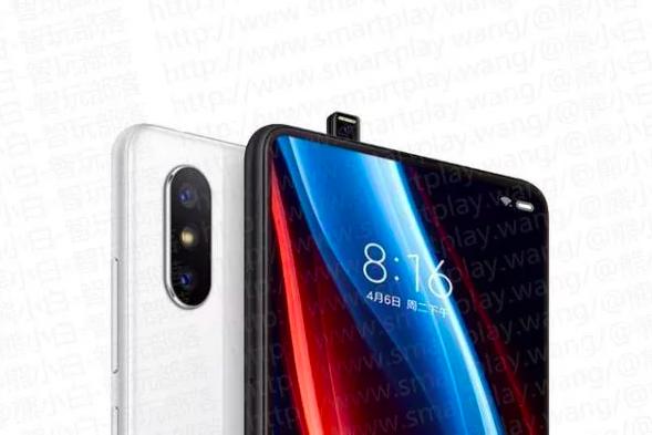 Xiaomi Mi Mix 3 с выдвижной камерой на рендерах