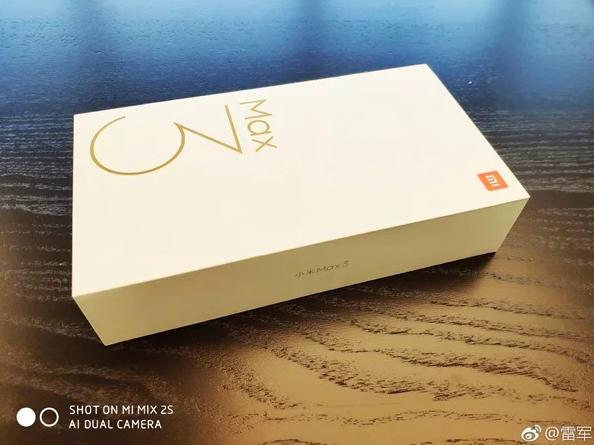 Лэй Цзюнь: держите Xiaomi Mi Max 3. Пока только коробка