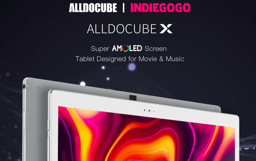 Анонс Alldocube X: тонкий с AMOLED-матрицей и качественным звуком планшет