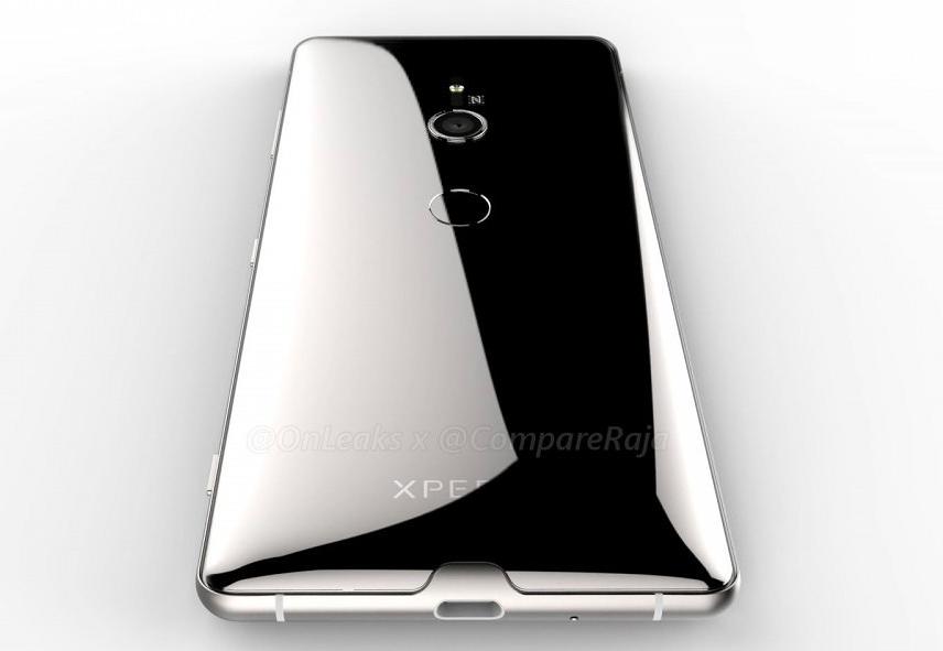 3D-рендер раскрывает детали о дизайне Sony Xperia XZ3