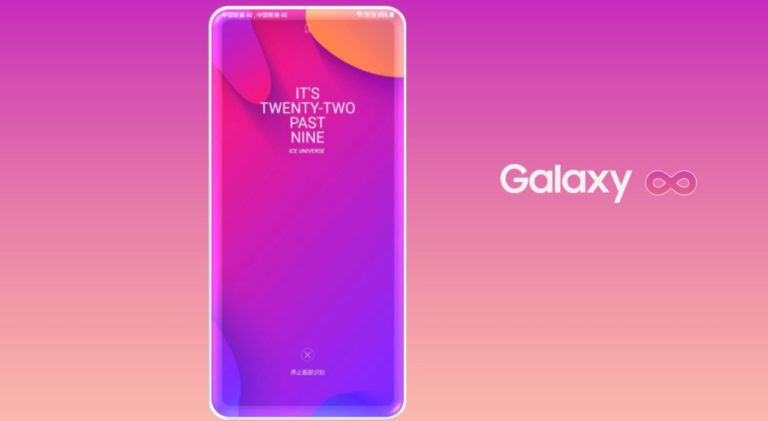 Флагман Samsung на рендерах совсем лишен рамок
