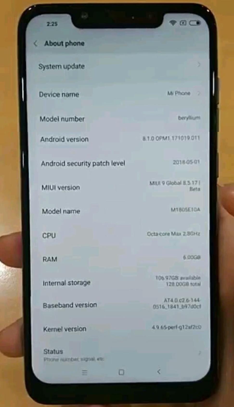 Названы ценники на Xiaomi Pocophone F1