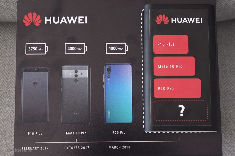 Huawei Mate 20 Pro получит самый большой аккумулятор среди флагманов