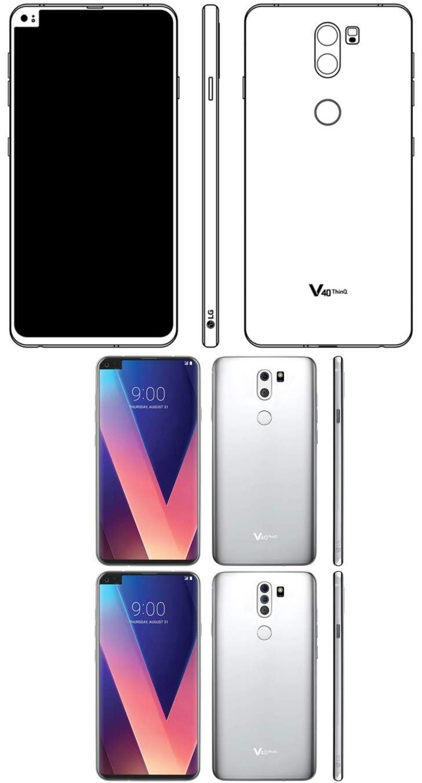 Концепт LG V40: вне рамок и вне шаблонов с «монобровью»