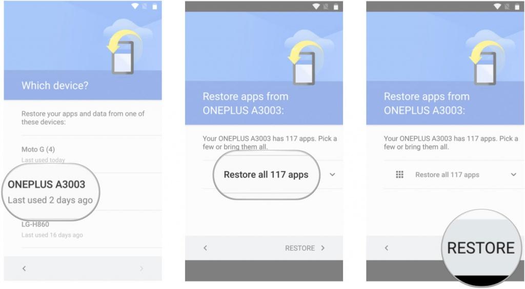 Google добавит возможность ручного резервного копирования данных Android