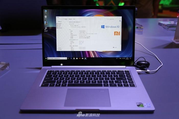Представлен игровой ноутбук Xiaomi Mi Notebook Pro 2
