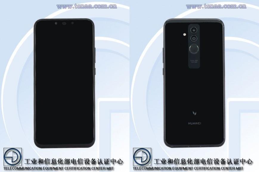 Изображения Huawei Mate 20 Lite появились на сайте TENAA