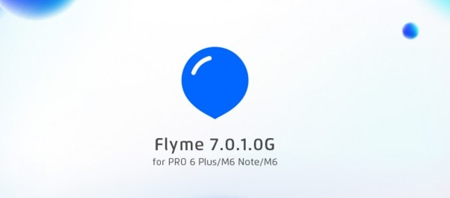 Meizu выпустила обновление Flyme 7.0.1OG для Meizu Pro 6 Plus, M6 Note и M6