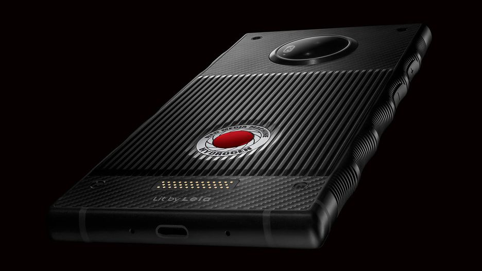 Red Hydrogen One показали на официальных пресс-изображениях