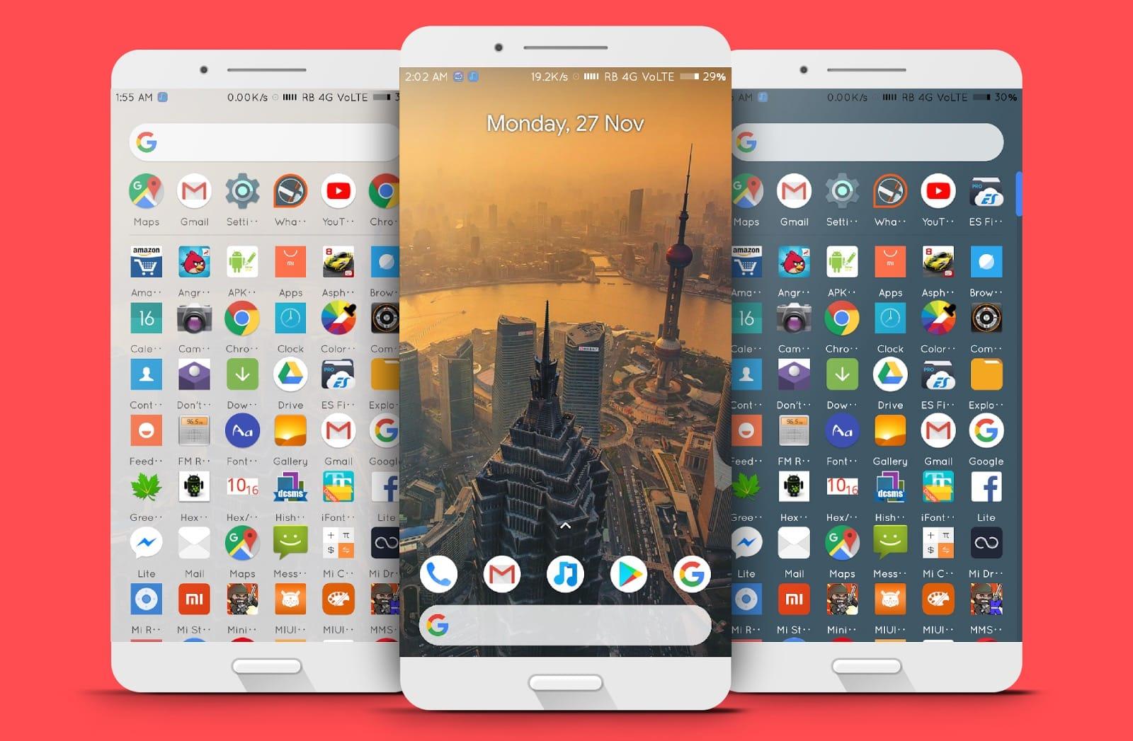 График обновления всех смартфонов до Android 9