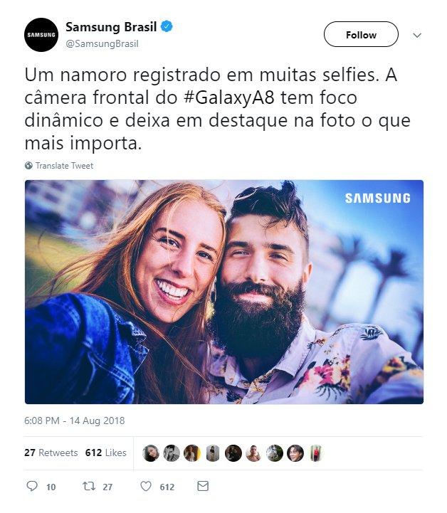 Samsung выдавала фото с профессионального фотоаппарата за снимок, снятый на камеру Galaxy A8 (2018)
