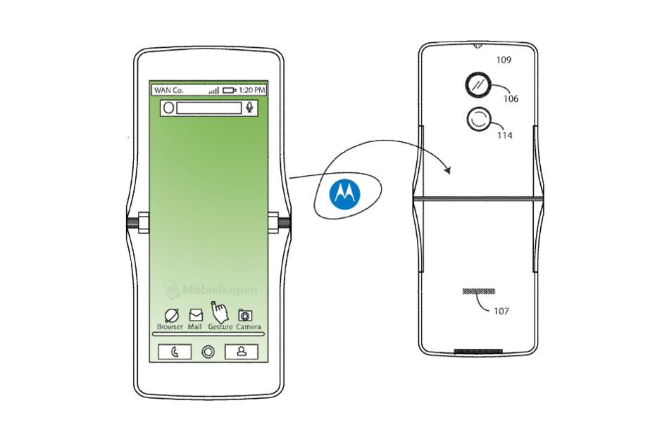 Motorola RAZR может вернуться с инновационными технологиями складной конструкции