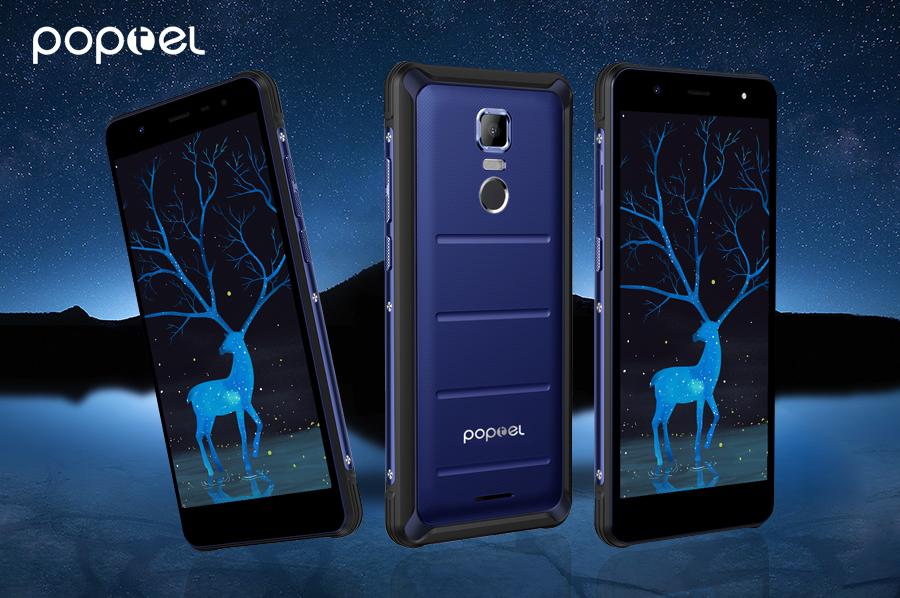 Poptel P10 — для поклонников недорогих и бронированных мобильников