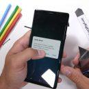 Samsung Galaxy Note 9 пережил испытание на прочность