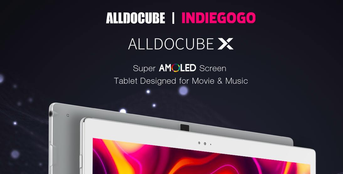 Планшет Alldocube X с 10,5-дюймовой AMOLED матрицей выйдет 8 августа