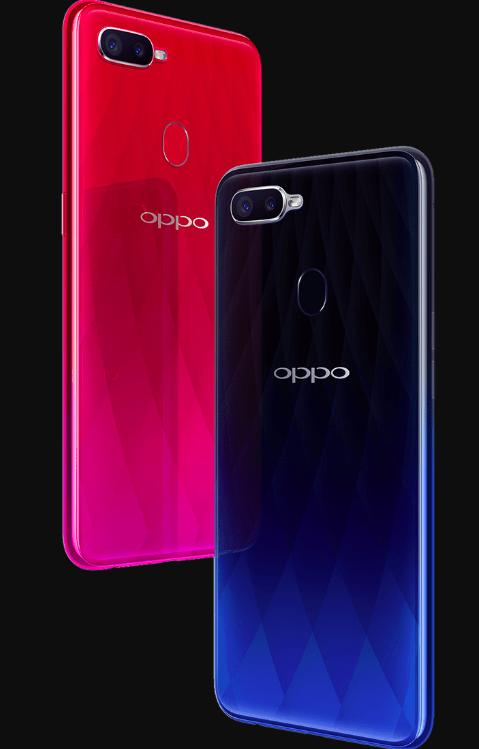 Oppo F9: большой экран, 25 Мп камера и быстрая зарядка VOOC