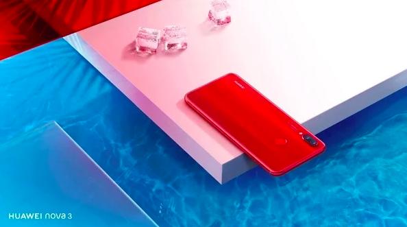 Huawei похвасталась продажами Nova 3 и Nova 3i