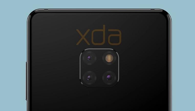 Изображения Huawei Mate 20 со всех сторон: в поисках своего дизайна и причудливая тройная камера