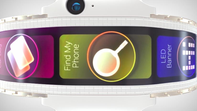 Гибкий смартфон Nubia α — концепт из реального будущего