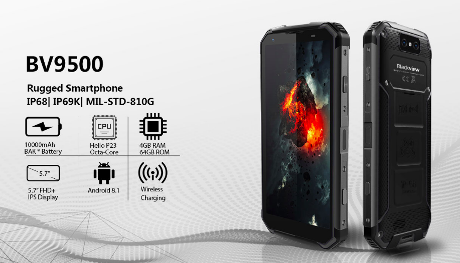 Blackview готовит защищенный смартфон BV9600 Pro с OLED дисплеем