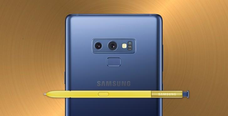 Неожиданно: Samsung Galaxy Note 9 с 8/512 Гб памяти оказался популярнее младшей версии