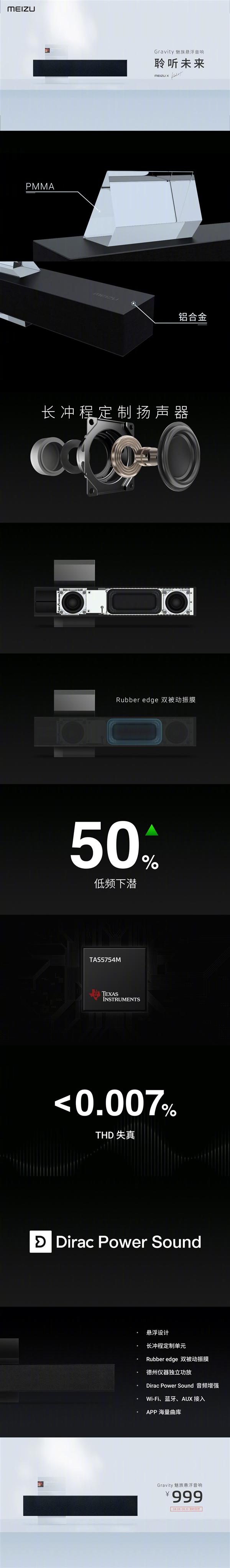 Колонка Meizu Gravity с улетным звуком наконец-то выходит на рынок