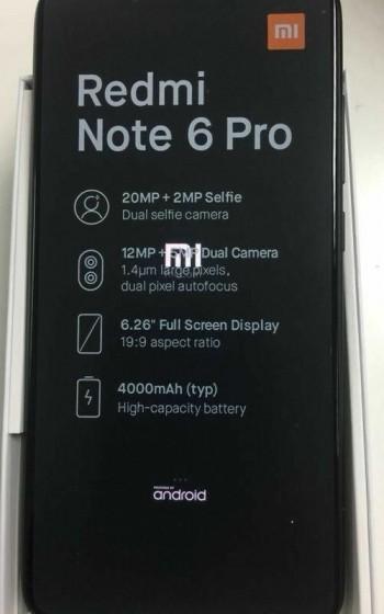 Характеристики Xiaomi Redmi Note 6 Pro: четыре камеры добрались и до смартфонов Xiaomi