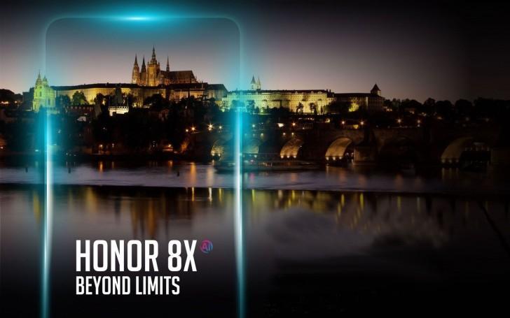 Honor 8X будут продавать за пределами Китая