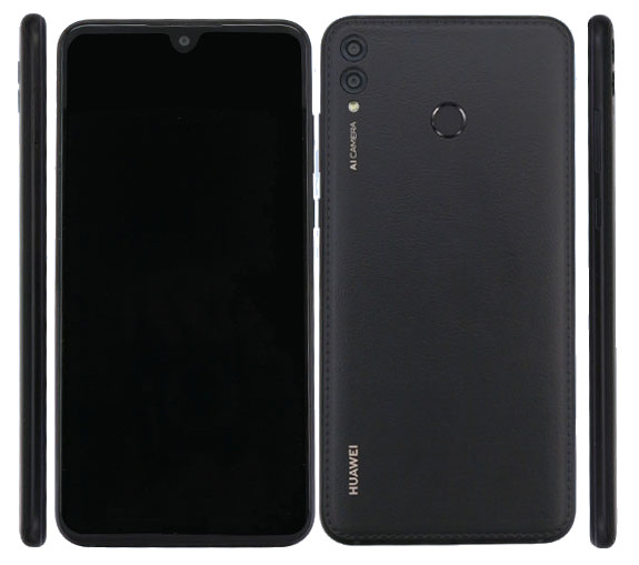 Huawei готовит смартфон со «спинкой» из кожзаменителя