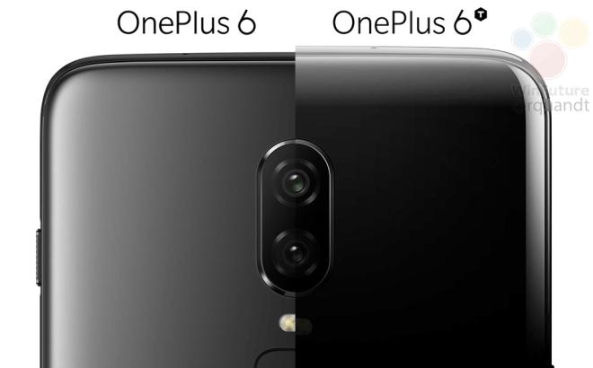 OnePlus 6T показали на пресс-рендере