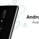 OnePlus 6 получил стабильную версию OxygenOS 9.0 на Android 9.0 Pie