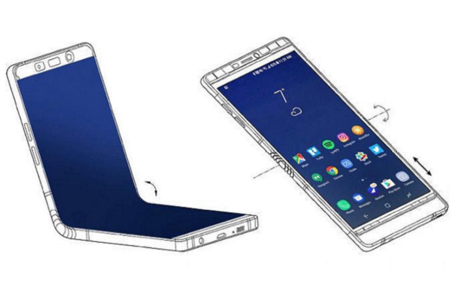 Складной смартфон Samsung дебютирует раньше, чем предполагалось