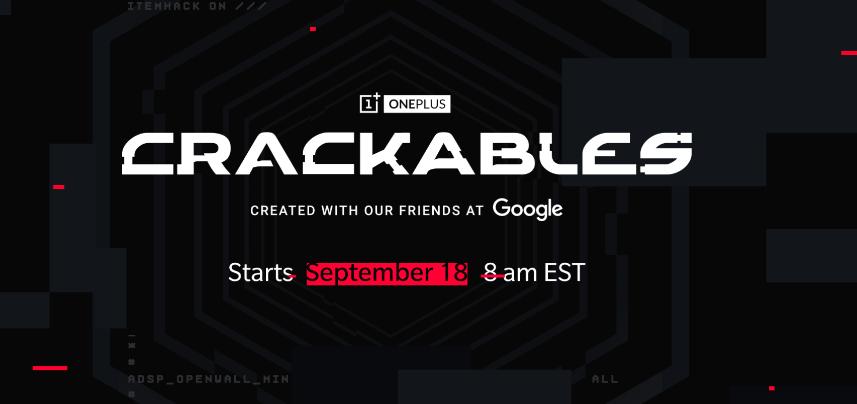 OnePlus приглашает принять участие в игре «Crackables»