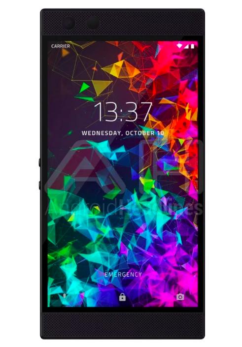 Качественный рендер Razer Phone 2