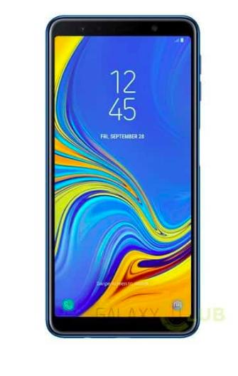 Фото и рендеры Samsung Galaxy A7 (2018) с тройной камерой