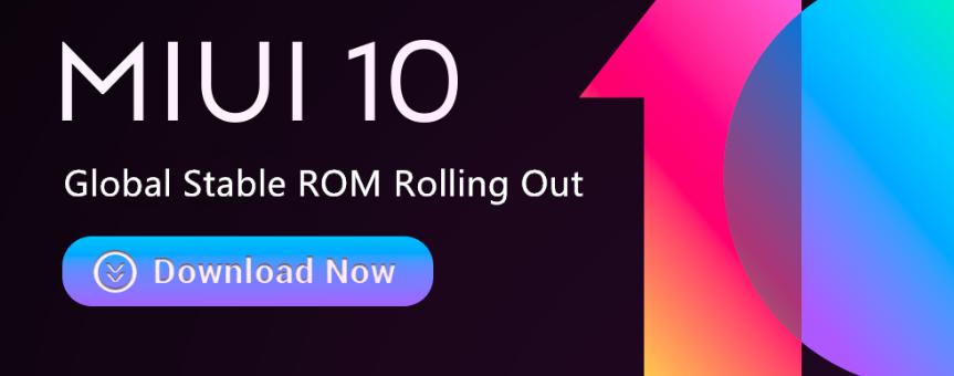 Для Xiaomi Mi 6 вышла MIUI 10 Global Stable ROM