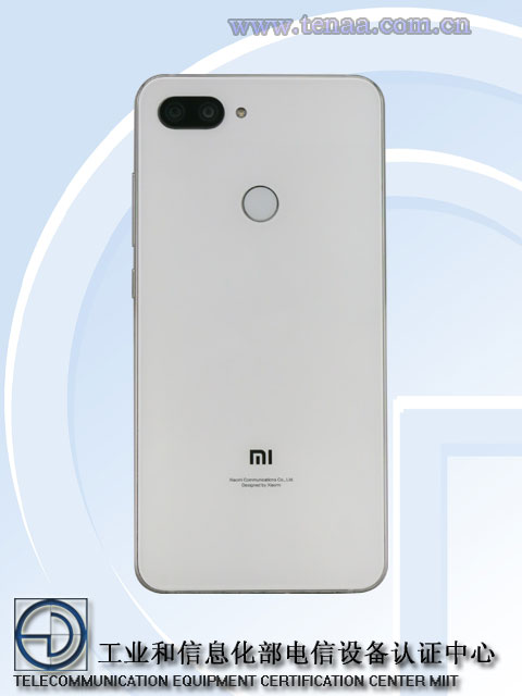 Xiaomi Mi 8 Youth: изображения и характеристики с сайта TENAA
