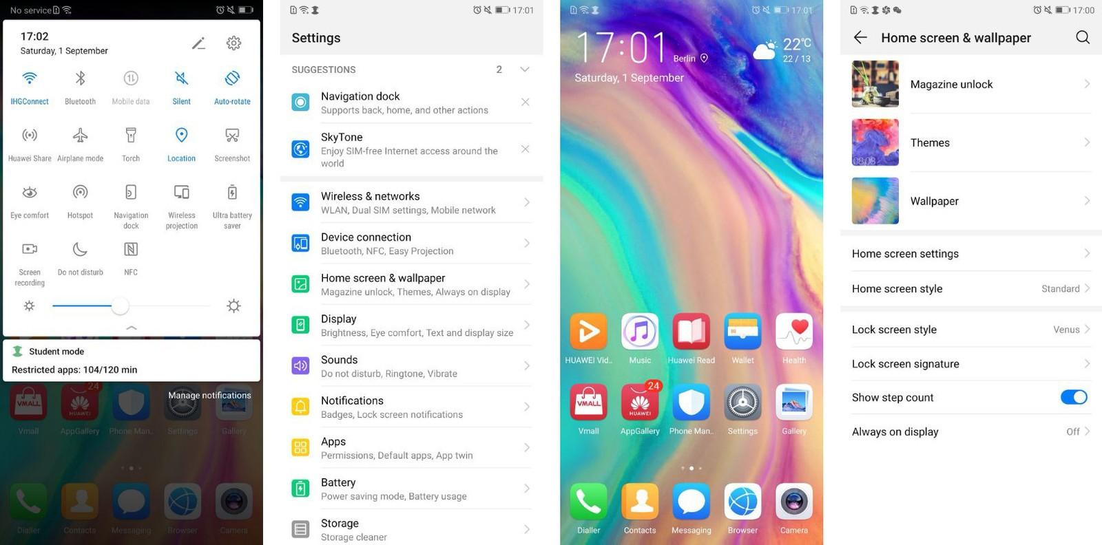 Huawei выпустила EMUI 9 на Android 9.0 Pie, бета-версия доступна для 7 моделей