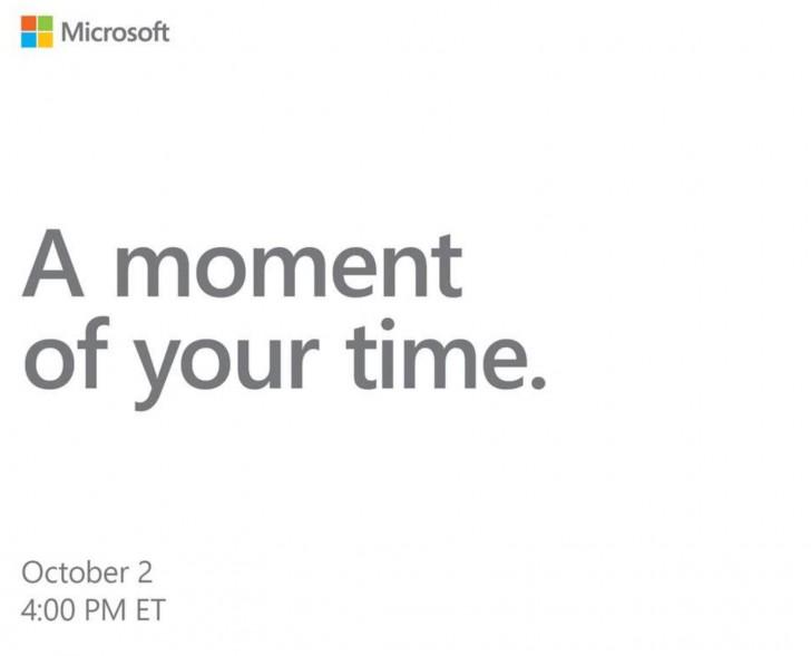 Microsoft объявляет дату презентации новых Surface