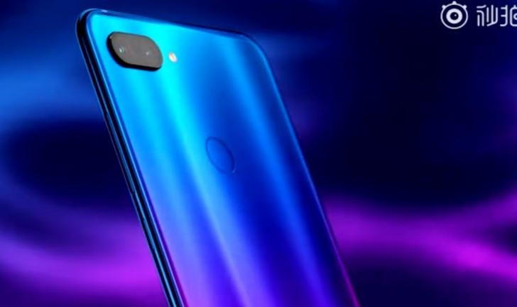 Показали Xiaomi Mi 8 Youth в синей градиентной «одежке»