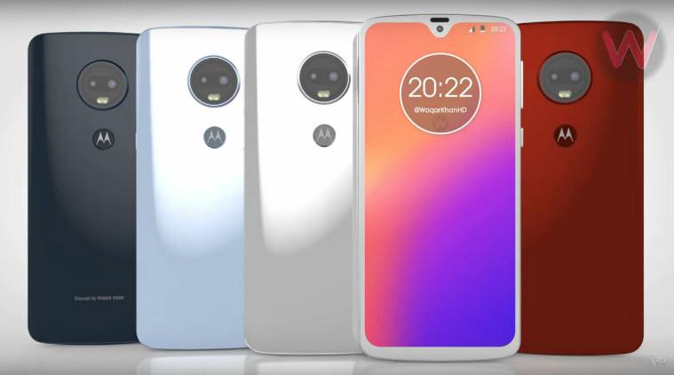 Концепт Moto G7 и G7 Plus на видео