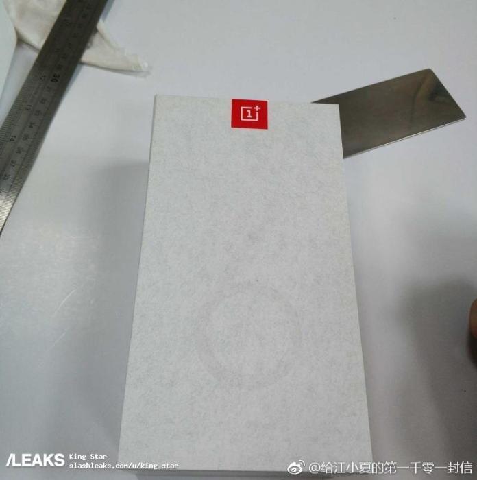Упаковка OnePlus 6T показала его дизайн