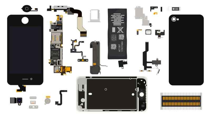 Оптовые поставки деталей и запчастей к мобильным телефонам