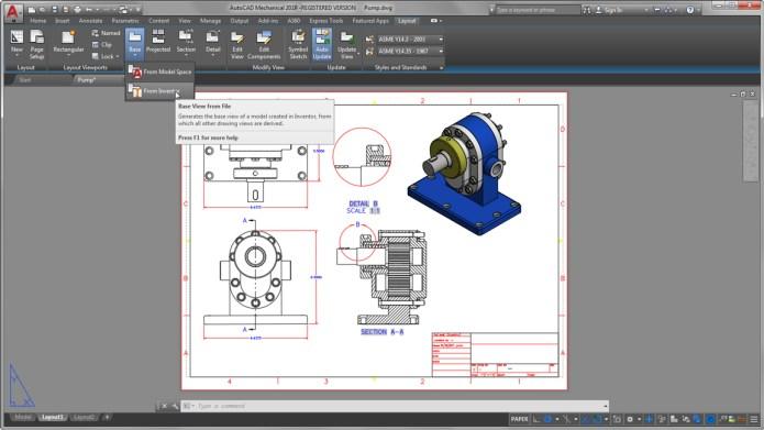 AutoCAD Mechanical – быстрое создание качественных проектов